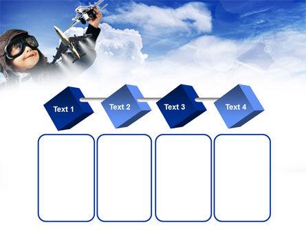 Little Pilot PowerPoint Template Slide 18