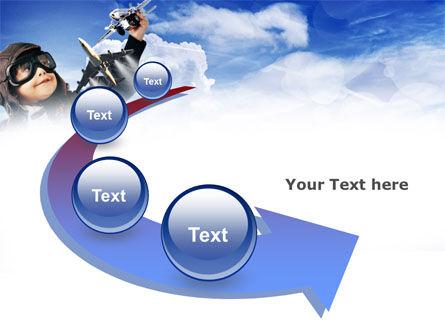 Little Pilot PowerPoint Template Slide 6