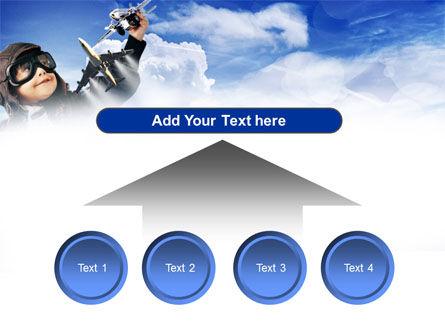 Little Pilot PowerPoint Template Slide 8