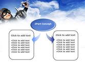 Little Pilot PowerPoint Template#4