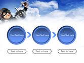 Little Pilot PowerPoint Template#5