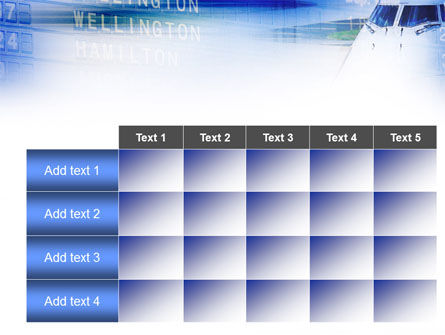 flight schedule template - flight schedule powerpoint template backgrounds 00839