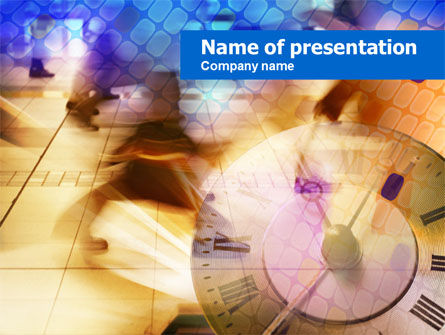 Tick Tack Time PowerPoint Template