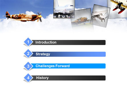Aviation History PowerPoint Template Slide 3
