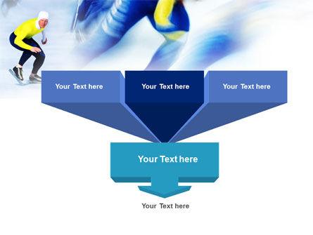 Speed Skating PowerPoint Template Slide 3