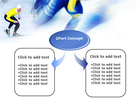 Speed Skating PowerPoint Template Slide 4