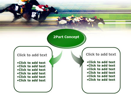 Horse Racing PowerPoint Template, Slide 4, 00844, Sports — PoweredTemplate.com