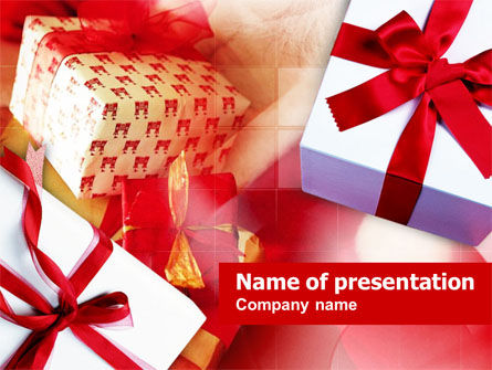 Gift Wrapping PowerPoint Template