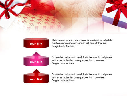 Gift Wrapping PowerPoint Template Slide 10