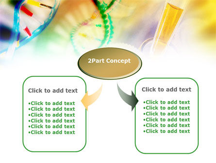 Genomic Studying PowerPoint Template, Slide 4, 00847, Technology and Science — PoweredTemplate.com