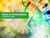 Technology and Science: Genomic Studying PowerPoint Template #00847