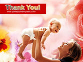 Mother and Baby PowerPoint Template#20