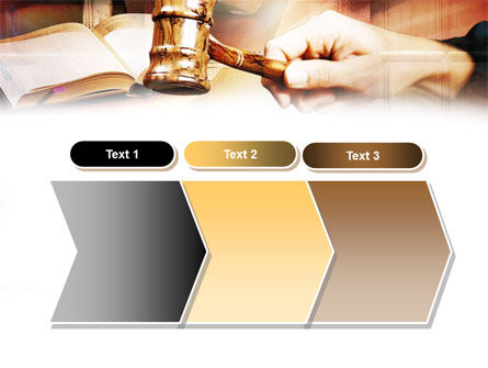 Court PowerPoint Template Slide 16