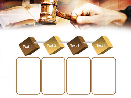 Court PowerPoint Template Slide 18