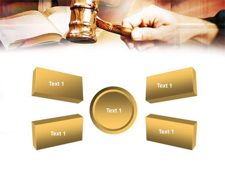 Court PowerPoint Template Slide 6