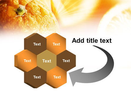 Oranges And Halves PowerPoint Template Slide 11