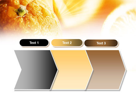Oranges And Halves PowerPoint Template Slide 16