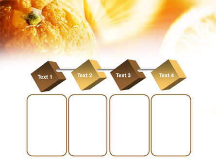 Oranges And Halves PowerPoint Template Slide 18