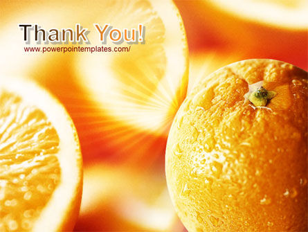 Oranges And Halves PowerPoint Template Slide 20