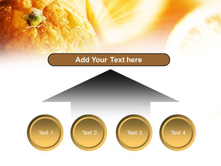 Oranges And Halves PowerPoint Template Slide 8