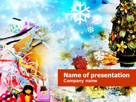 Holiday/Special Occasion: Christmas PowerPoint Template #00851