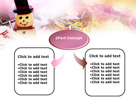 Merry Xmas PowerPoint Template, Slide 4, 00852, Holiday/Special Occasion — PoweredTemplate.com