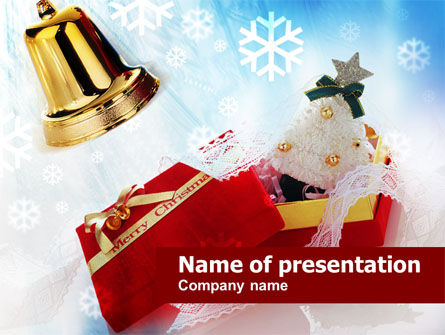 Christmas Decoration PowerPoint Template, 00853, Holiday/Special Occasion — PoweredTemplate.com