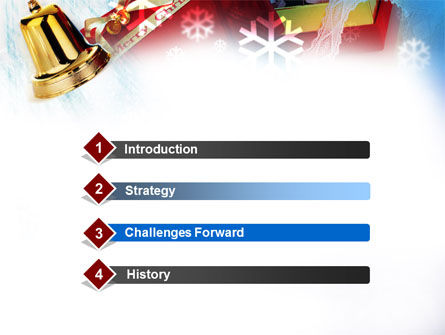 Christmas Decoration PowerPoint Template, Slide 3, 00853, Holiday/Special Occasion — PoweredTemplate.com