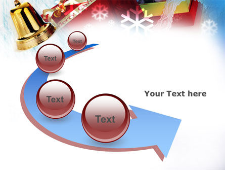Christmas Decoration PowerPoint Template Slide 6