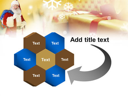 Santa PowerPoint Template Slide 11