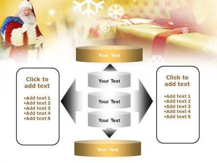 Santa PowerPoint Template Slide 13