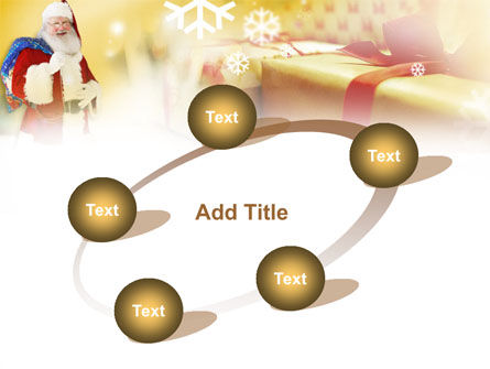 Santa PowerPoint Template Slide 14