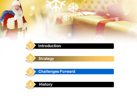 Santa PowerPoint Template, Slide 3, 00854, Holiday/Special Occasion — PoweredTemplate.com