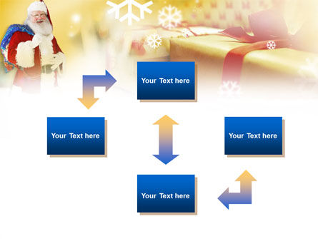 Santa PowerPoint Template, Slide 4, 00854, Holiday/Special Occasion — PoweredTemplate.com