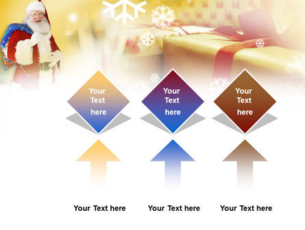 Santa PowerPoint Template Slide 5