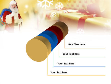Santa PowerPoint Template Slide 7