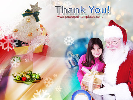 Christmas Present PowerPoint Template Slide 20