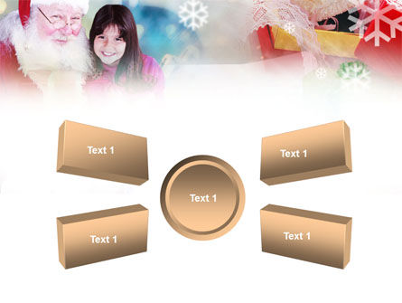 Christmas Present PowerPoint Template Slide 6