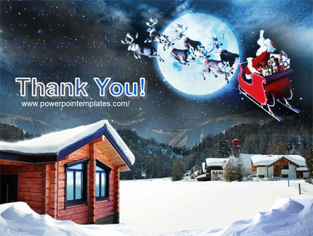 Christmas Eve PowerPoint Template Slide 20