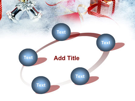 Christmas Presents In A Snow PowerPoint Template Slide 14
