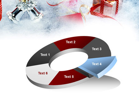 Christmas Presents In A Snow PowerPoint Template Slide 19