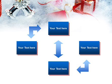 Christmas Presents In A Snow PowerPoint Template, Slide 4, 00857, Holiday/Special Occasion — PoweredTemplate.com