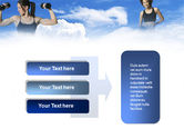 Keeping Fit PowerPoint Template#11