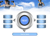 Keeping Fit PowerPoint Template#12