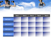 Keeping Fit PowerPoint Template#15