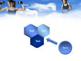 Keeping Fit PowerPoint Template#19