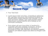 Keeping Fit PowerPoint Template#2