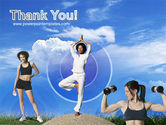 Keeping Fit PowerPoint Template#20
