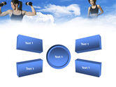 Keeping Fit PowerPoint Template#6