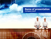 Sports: Asian Martial Arts PowerPoint Template #00859